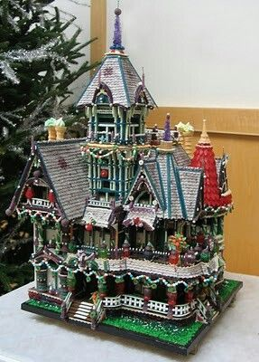 ..Victorian Gingerbread House