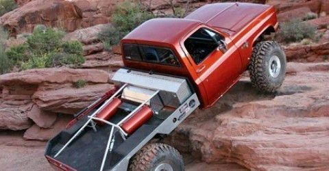 how to build a wooden flatbed for a pickup