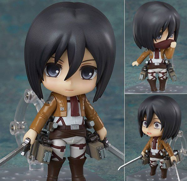 Nendoroid 365 Mikasa Ackerman from Attack on Titan [IN STOCK]  Last one in stock from: http://www.figurecentral.com.au/products/nendoroid-365-mikasa-ackerman-from-attack-on-titan-in-stock?variant=27033379585  #nendoroid #mikasaackerman #attackontitan #goodsmilecompany #figurecentral