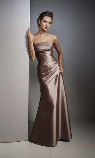 Taffeta Mermaid Strapless Long Formal Dresses FSAU1409P800184 - formalsydney.com