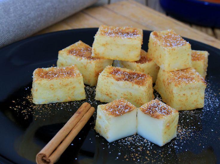 Leche Frita Fit (sin freír, sin azúcar y al horno)