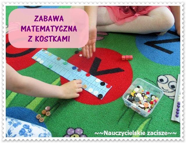 Nauczycielskie zacisze: Zabawa matematyczna z kostkami dla pierwszaków