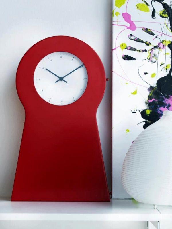 ikea ps klok rood ikea pinterest clocks and walls. Black Bedroom Furniture Sets. Home Design Ideas