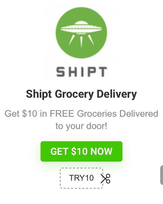 Get $10 in FREE Groceries Delivered to your door! Shipt