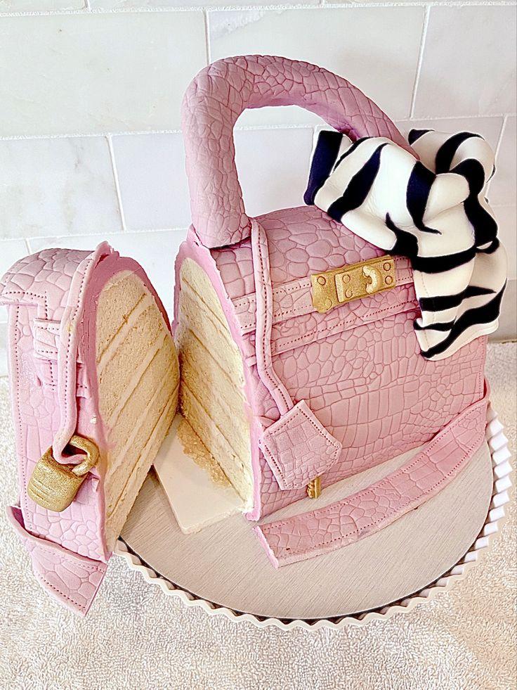 Handbag cake in 2020 handbag cake handbag cakes