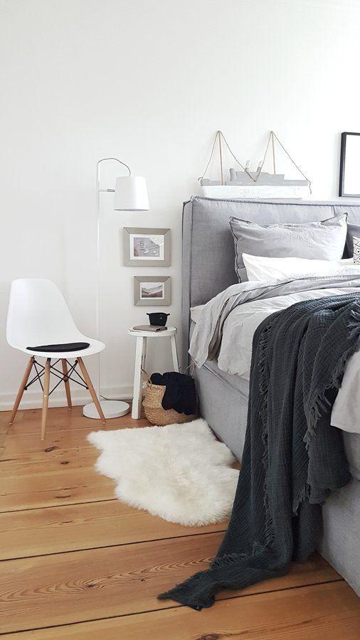 winterlicht - Schlafzimmerideen Des Mannes Grau