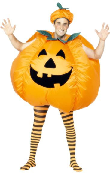 Maybe I can get nick to wear this.. lol  Inflatable Pumpkin Costume