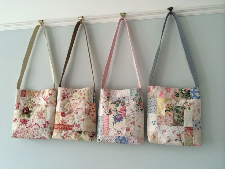 Best 25+ Handmade fabric bags ideas on Pinterest | Fabric tote ... : fabric quilted handbags - Adamdwight.com