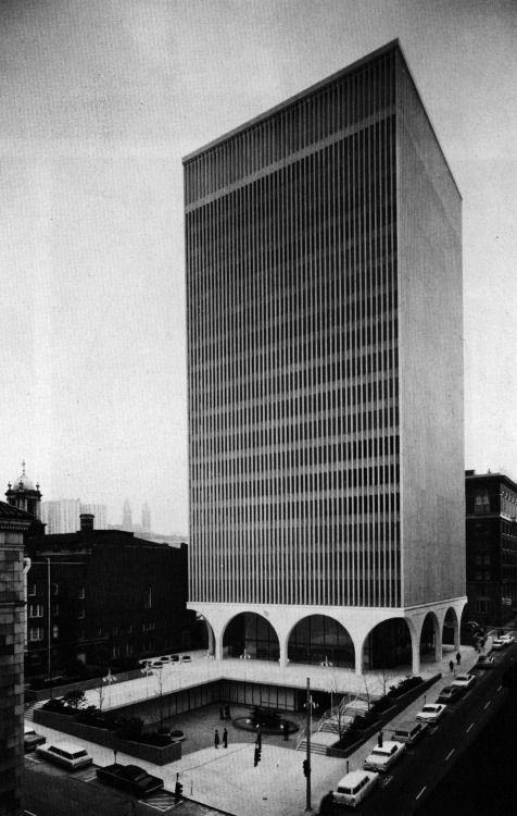 Minoru Yamasaki, I.B.M. Office Building, Seattle, Washington, 1963