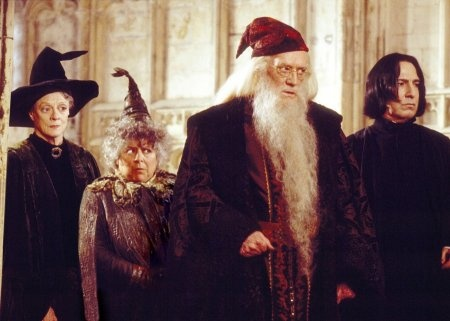 Richard Harris as the original Dumbledore. (And to me, he will always be the only Dumbledore!)
