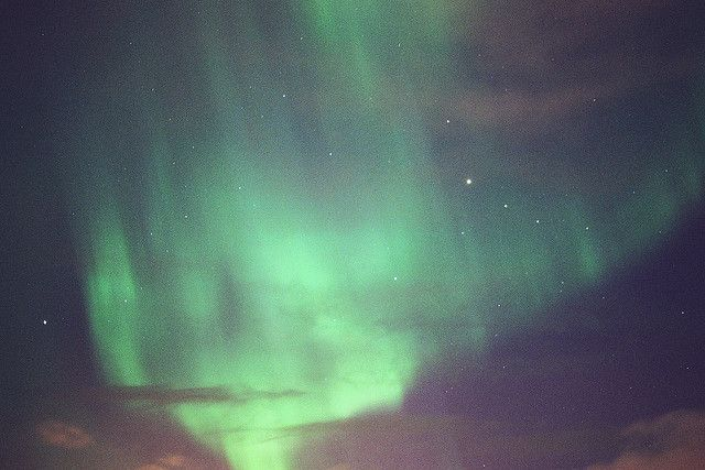 Aurora from Iceland, by Bruce Cowan
