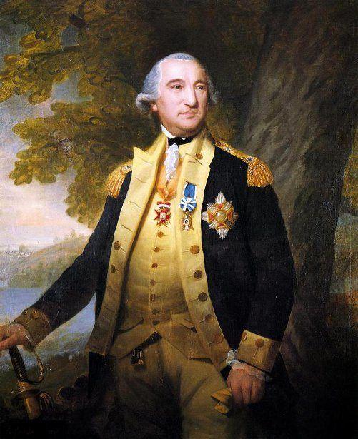 Baron Von Steuben--Ralph Earl 1751-1801