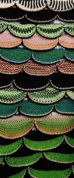 Fabric #Details | Missoni Fall 2014 Close Up  http://gtl.clothing/a_search.php#/post/Missoni/true @gtl_clothing #getthelook
