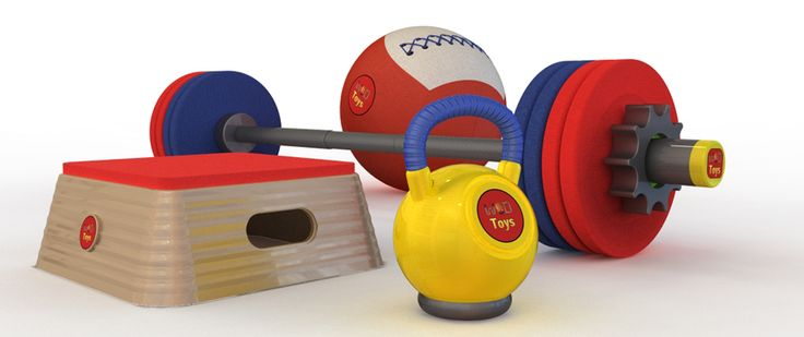 WODtoys for your pre-CrossFit Kids - OMG!! I know some kids that need this! LOL!! @Jenn L Kruse