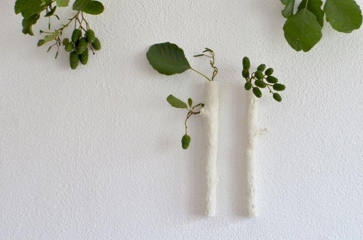 ❍ Porcelain wall twigs by Otchipotchi . July 2016