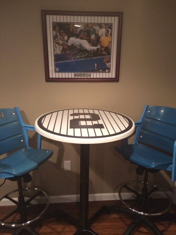 Nice 3 Game/refreshment Tables For The Cave, Each Adorned With A Different  Jersey Number   For Derek Jeter (Mr November), For Babe Ruth (the Red Sox /  Yankee ...