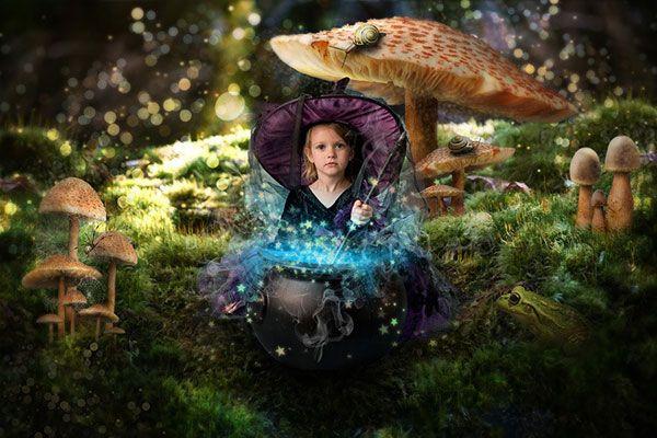 Превращаем фотографию в сказочную историю - Часть II