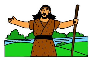 """John the Baptist"" lesson and teaching resources at www.missionbibleclass.org"