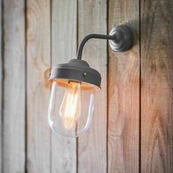 Big Barn Wall Light - Charcoal