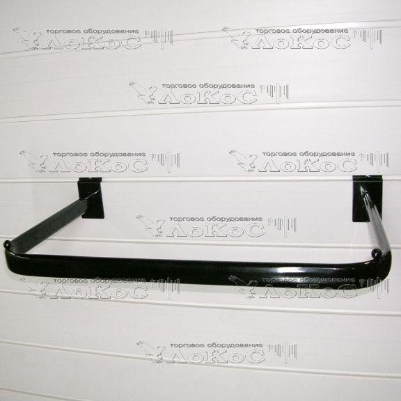 Кронштейн П-образный, чёрный, F114