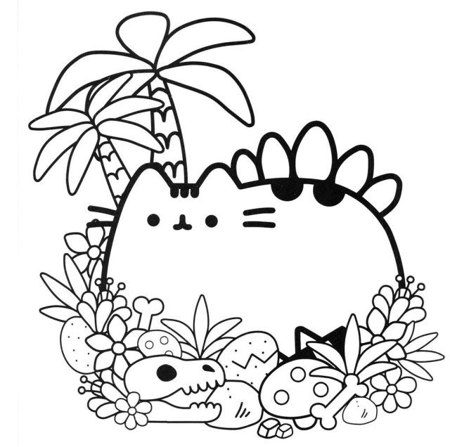 25 Inspired Photo Of Pusheen Cat Coloring Pages Unicorn