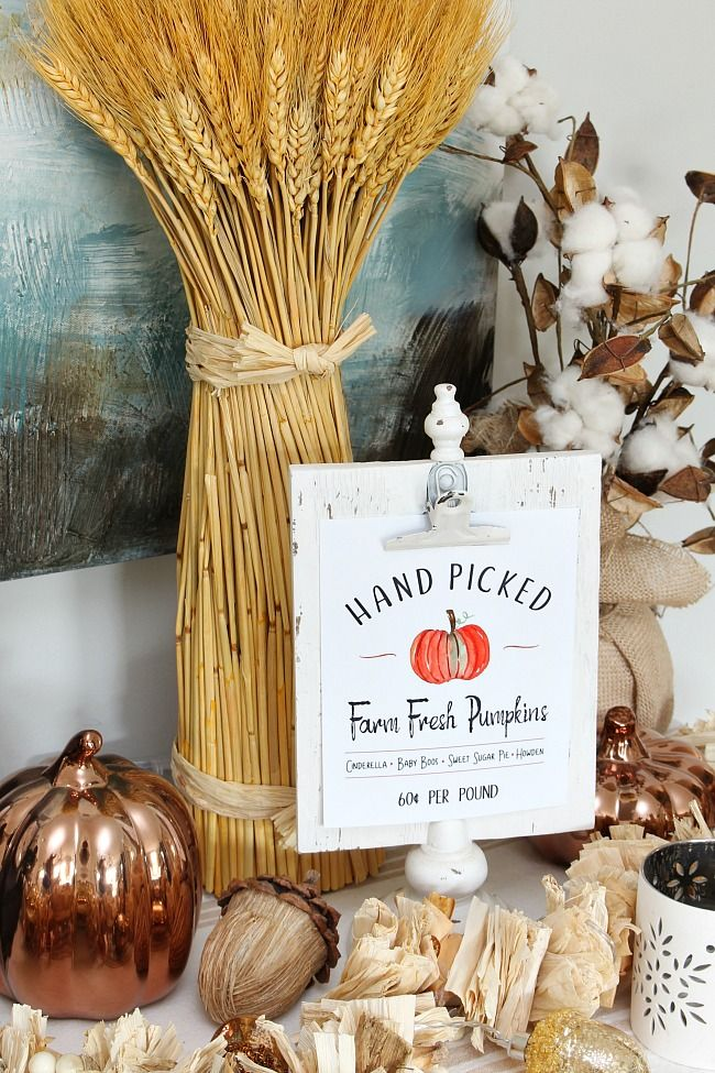5 fall decorating ideas inspiration monday diy do it yourself rh pinterest com