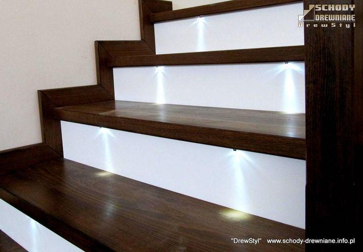 Schody na beton - schody drewniane, które zachwycają