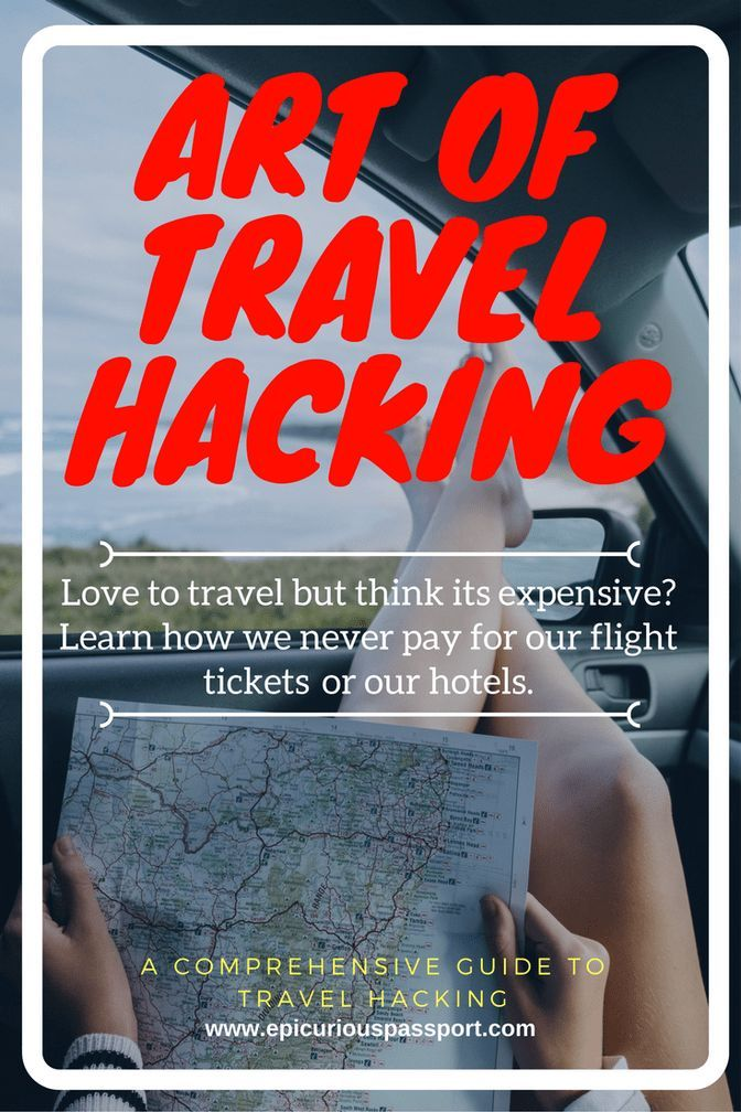 Travel Hacking so you can travel for FREE | Epicurious Passport