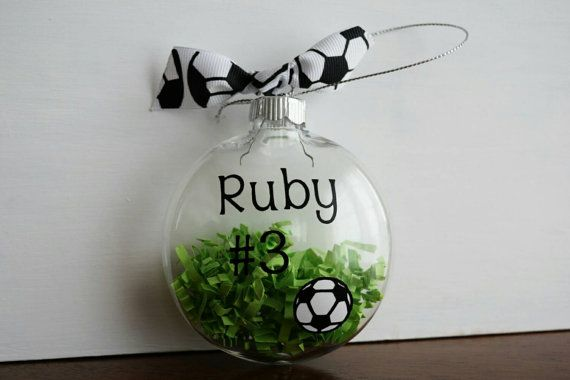 Check out this item in my Etsy shop https://www.etsy.com/listing/256848030/soccer-ornament-for-player-or-coach