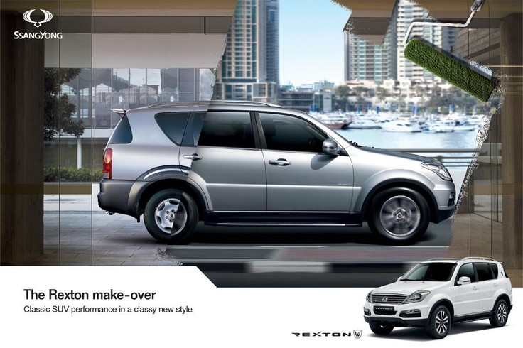 The all new SsangYong Rexton - Classic SUV performance in a classy new style.    Join us at www.facebook.com/McCarthyWeCare