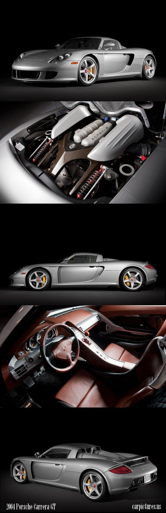 2004 Porsche Carrera GT. Source: RM Auctions. ✏✏✏✏✏✏✏✏✏✏✏✏✏✏✏✏ AUTRES VEHICULES - OTHER VEHICLES   ☞ https://fr.pinterest.com/barbierjeanf/pin-index-voitures-v%C3%A9hicules/ ══════════════════════  BIJOUX  ☞ https://www.facebook.com/media/set/?set=a.1351591571533839&type=1&l=bb0129771f ✏✏✏✏✏✏✏✏✏✏✏✏✏✏✏✏