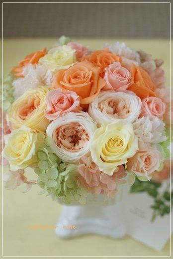 『【今日の贈花】お元気がでますように・・・。』