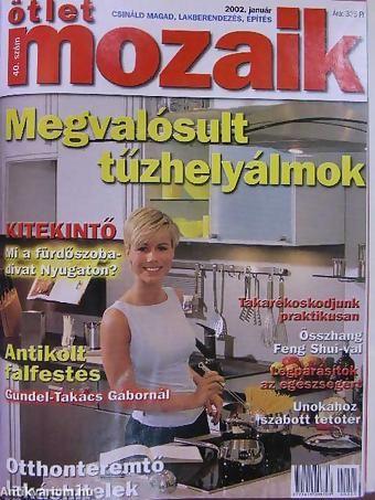 Könyv ára: 2030 Ft. Ötlet Mozaik 2002. január-december - Jodal Béla: