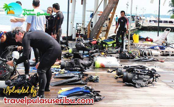 Pulau Seribu memiliki berbagai spot indah untuk anda para pecinta diving. #diving
