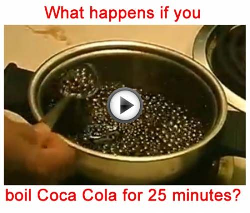VIDEO- What Happens If You Boil Coca Cola? - PositiveMed