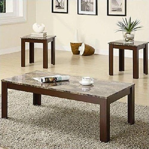 Coaster Fine Furniture 3-Piece Coffee Table and End Table Set Modern,Mid Century #CoasterHomeFurnishings