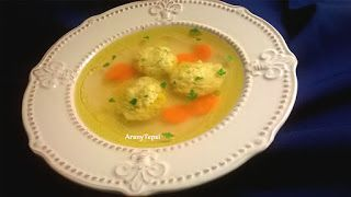 AranyTepsi: Kacsaaprólék leves vajas gombóccal
