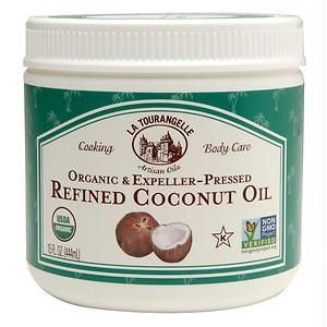 La Tourangelle Refined Coconut Oil (6x15 Oz)