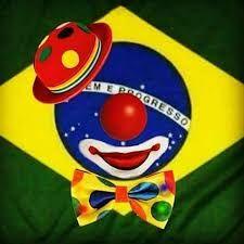 Resultado de imagem para brasil bandeira DO PALHAÇO