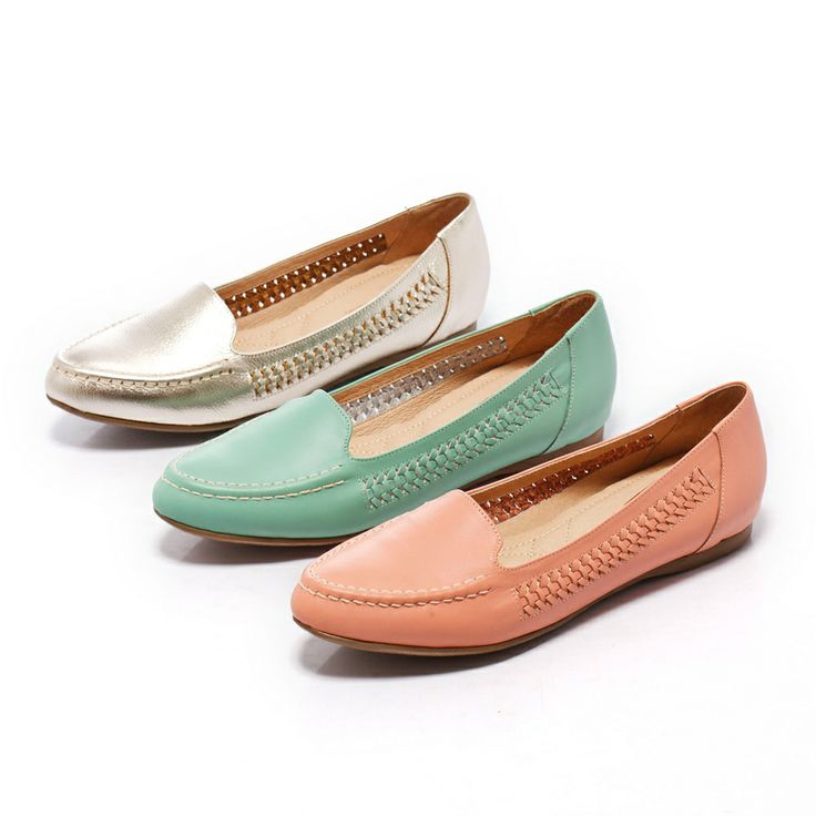 1-2380 Fair Lady 優雅外貌平底休閒鞋 綠 - Yahoo!奇摩購物中心