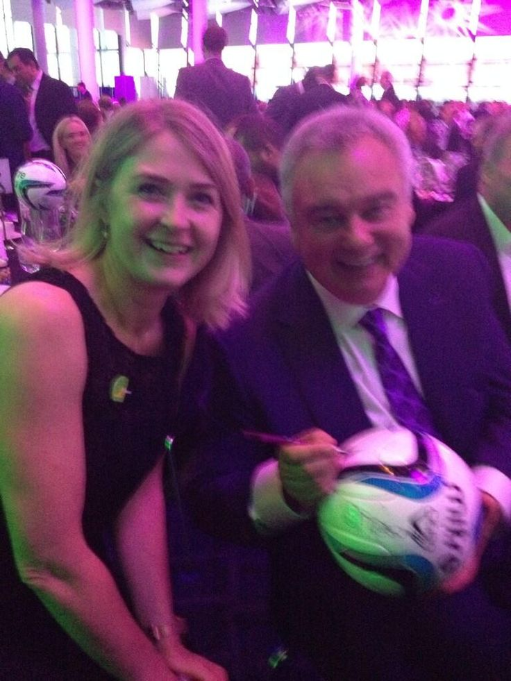 Twitter / 66LAVELL: With eamonn holmes at the kick ...