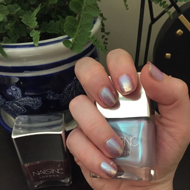 45 Second Top Coat with Kensington Caviar - NAILS INC. | Sephora ...