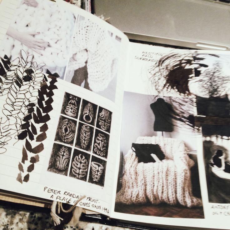 Acorn sketchbook