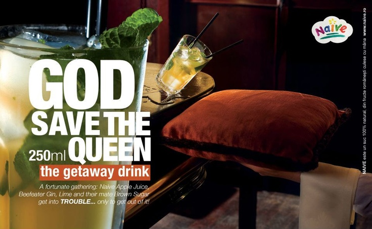 God Save The Queen.  The gateway drink.