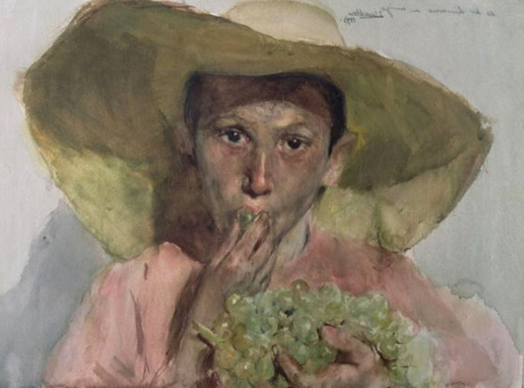 *Boy Eating Grapes | Joaquín Sorolla y Bastida