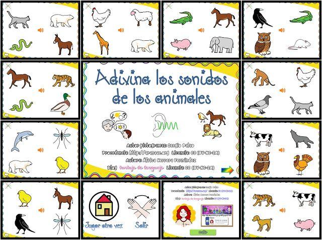 Burbuja de Lenguaje: Adivina los Sonidos de los Animales