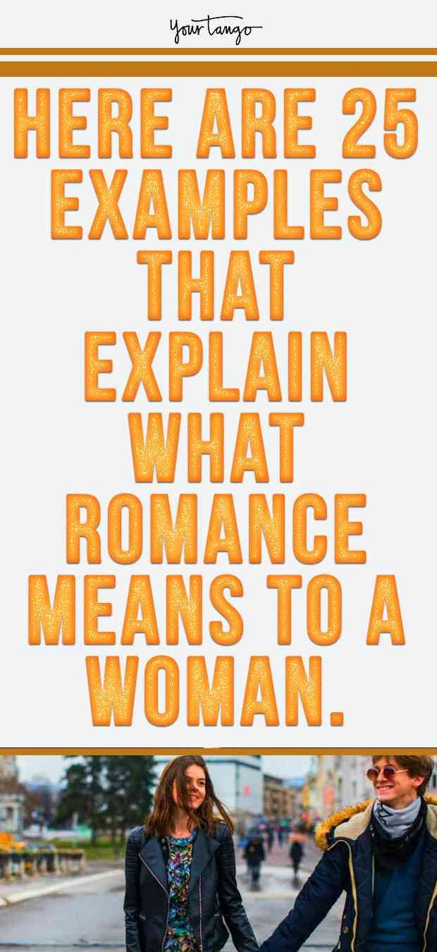 what is romance mean