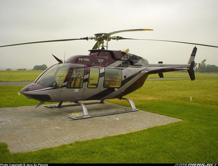 Bell 407 - RBL is Blue now!