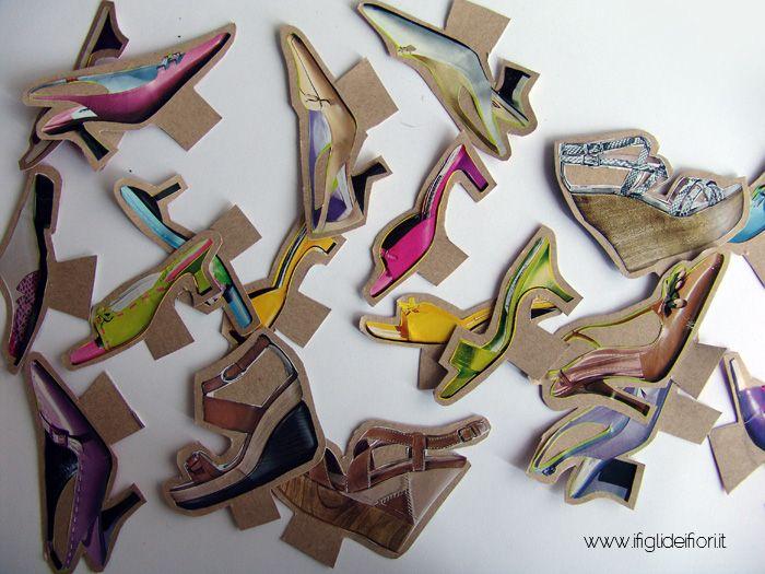Il piccolo negozio di scarpe di carta
