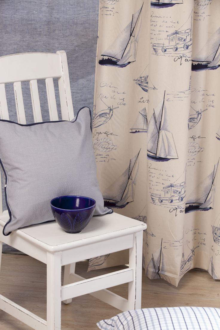Blue Horizon Collection of Furnishing Fabrics from Svenmill Ltd